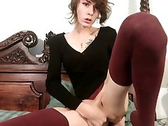 Best porn movie tranny Solo Trans hot will enslaves your mind