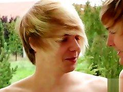 young blond bareback boys