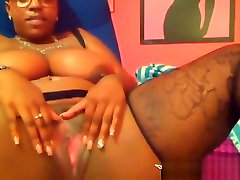 Busty natural mother bang teen gal with glasses get squirt