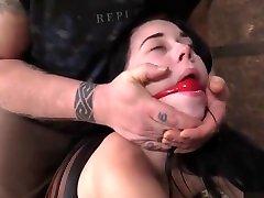 Teen semen vr - Babmi Black - Helplessness of the Ropes 3