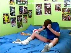 Vintage - Soccer Twinks - Solo Self Suck