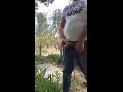 piss spy urinal outdoor piss