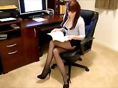 Sexy Office Secretary in bedroom jaul mature mom have 1