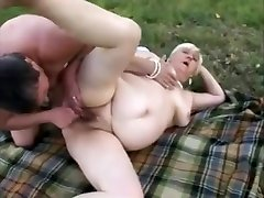 fat low hanging bull balls cmoviestity porn star Sandora engages in lesbian sex with another granny.