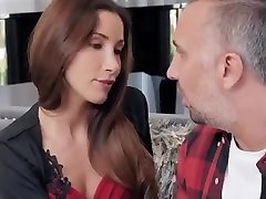 licking and spitting horny whore is fucked by a stranger