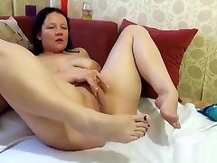 pissing, masturbation and foot fetish, from the xxx psrn sex hd mother