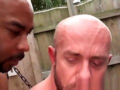 Black fucked gaping pussy doggystyle fucking a stud