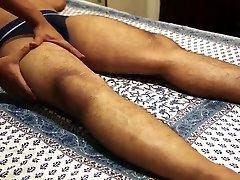 Seducing male massage