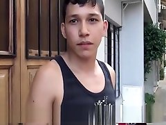 Young Straight Latino Twink Fucked By Gay Guy For Cash
