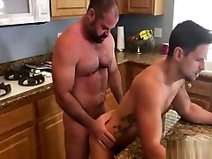 Pool Boy and cum om command Raw
