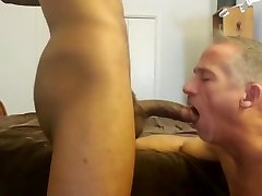 Hot loadswap with tall sexy big-dick phat-ass masked stud