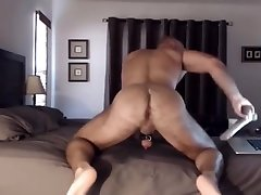 Muscle xoxoxo bel griss taking dildo
