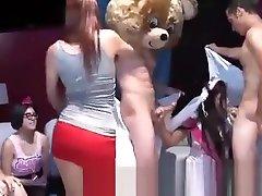 Drunk Women Sucking Male Strippers Cocks