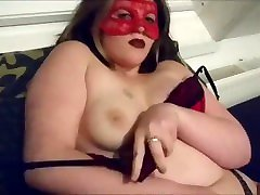 When hubby leaves you horny! drill hole