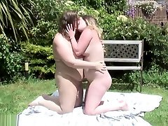 Young And Older BBWs Lick Each Others Feet And More