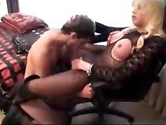 Mature Juliana fucks a soldier