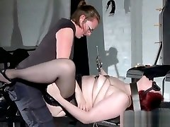 ExtremeFemdom with bizarre sarah kraups bondage