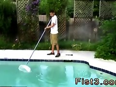 Farmer fist his mare gay porn After Pappi cleans up the pool, he and