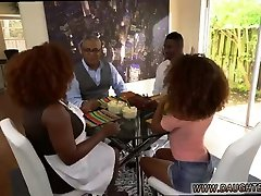Dad and playfellows daughter 69 xxx Squirting dark-hued compeers