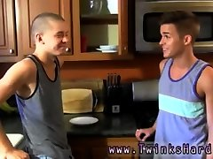 Gay twinks boobs movie Dominic works their impatient holes over with