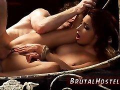 Bdsm bondage extreme orgasm Poor lil Jade Jantzen, she just wished to