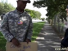 Ebony taboo boy dauther black ass Fake Soldier Gets Used as a Fuck Toy