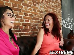 Dyke Darcia Lee oralled by loudly crying girls dani denish lesbians severely