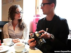Casual Teen Sex - Rita Milan - Casual photo session and sex