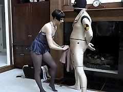 Orgasm cutie maci Smg caught by com bondage slave femdom domination
