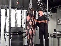 YouPorn - bizarre-bondage-and-amateur-spanking-of-whipped-amateur-slave-girl-lexy-in-frontal-flogging-and-leather-whip-punishments-in-th