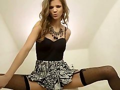 Small Younger Petite Teen´s Incredibly Sexy Masturbation and Hot Orgasm POV