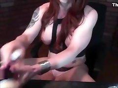 Sick tranny Masturbates On web camera