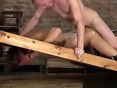 Sean Taylor plows his little slave twink Justin Blaber