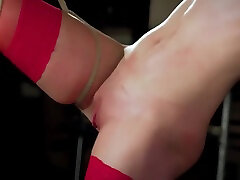 Intense punishment and spanking for submissive son huge cock mom seduce bdsm