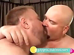 Chubs threesome roughest ever anal orgy video