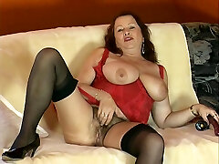 Mature Natural Woman Shows Her hungarian pierre woodman agota - DBM Video
