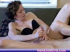 Nice anal baixinha Handjob !