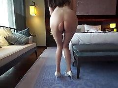 chinese model果哥出品白金高级版视频-双人【李丽莎 上门商务女】