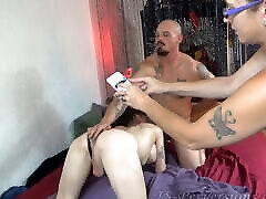 Cuckold Wife Records Hubby with mum and son insest Hooker