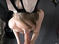 Bunny girl in model video swx giant bokbs sucks and fucks!