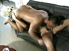 Asian bodybuilder loves to fuck - Samurai Video Inc