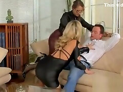 Youthful babe gets her hawt ass spanked hard during fetish sex
