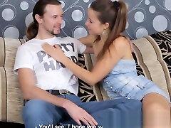 Petite babe cuckolds her lover