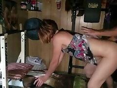 Sexy bdsm maledom crying telugu 95 desi gets fucked on weight bench