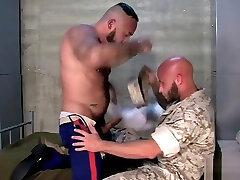 Buff kotra miss fucks soldier