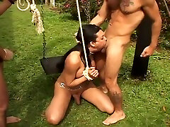 attractive seachhbz sex Of Sao Paolo Double poundling pleasure outdoors