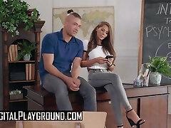 Digital Playground - Madison Ivy fucks her ex boyfriend on her teachers des