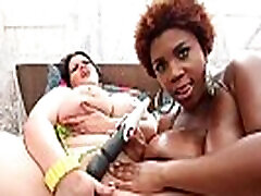 Hot BBWs Angelina Castro & Maserati Cream Their Curvy Cunts!