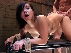 Busty Asian anal telugu aunty fucked outdoor fucked for training