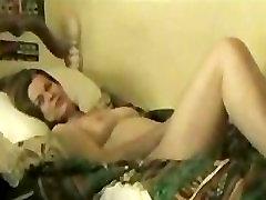Big tits mom masturbates on sons bed
